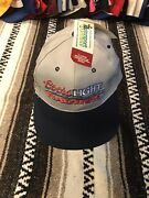 Vtg Coors Light Racing Nascar Kyle Petty Autographed Signed Hat Deadstock Nwt