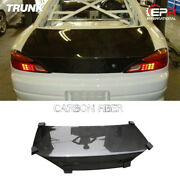 For Nissan Silvia S15 Oe-style Carbon Fiber Rear Trunk Boot Lid Part Bodykits