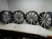 4 Used Discontinued Agetro Forged Monoblock M100 Wheels 23x11 5x120 Sr