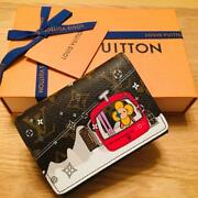 Louis Vuitton Tri-fold Wallet Limited Christmas From Japan Free Shipping