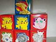 Burger King 23kt Gold Plated Pokemon Cards Complete Set Plus Extra Pikachu New