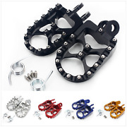 55mm Wide Footpegs Foot Pegs For Drz 400 E S Dr-z 400 Sm Rm 125 250 Rmx 250 R S