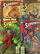 Superboy Annual 1-4. 4 Issue Set 1994-1997. 68 Pages. Dc Comics.
