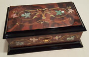 Reuge Mother Of Pearl Box With 30 Note Sankyo Mvt-march Of The Toy Soldiersp.t