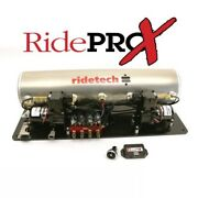 Ridetech 30414100 5 Gallon Airpod With Ridepro-x Control System And 1/4 Air Valve