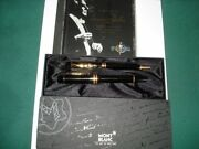 Limited Edition Set Bernstein Fountain Pen And Ballpoint Pen New In Box