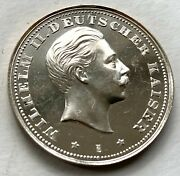 Germany Wilhelm Ii Consecration Of Victoria Foundation Silver Medal