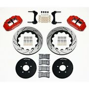 Wilwood 140-9117-dr Front Brake Kit Hat For 1994-2004 Ford Mustang New