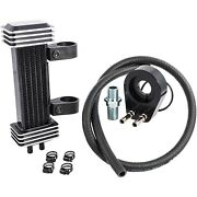 Jagg 762-1000 Motorcycle Oil Cooler System Deluxe 6-row Yamaha Bolt Xv950 14-20
