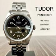 Tudor Date Mens Luxury Watch Self Winding Stainless Steel F/s From Japan