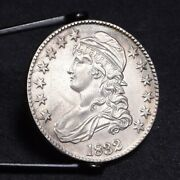 1832 Bust Half Dollar - Small Letters - Unc Details 30028