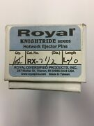 Royal Rx-7-1/2-l10 Rx Knightride Series H-13 Hotwork Ejector Pins Box Of 9