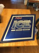 Pabst Beer Sign/mirror Ice Draft Cold Filtered Vintage 1995 Pabst Brewing Co.