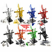 For Honda Cbr600rr 2009-2011 2012 Rearset Footrest Footpegs Pegs Pedals Shift