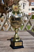Vintage Automobile Car Trophy Ms Stuttgart Rally For Special Sports Success 11