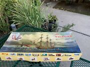 Mantua Hms Victory Wood Ship Model Kit 198 Scale Art 776 Italy New Old Stock