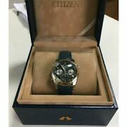 Citizen Campanola Limited Watch Camille Forne Menand039s Leather Belt Genuine F/s
