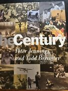 B 800 Peter Jennings Century Coffee Table Book Over 600 Pgs Pictorial First Ed