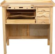 Professional Jeweler's Solid Wood Heavy Duty Work Bench - Brand New