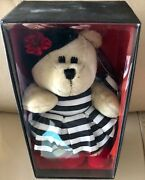 Starbucks 2013 Holiday Bearista Bear - Alice And Olivia By Stacey Bendet Mib