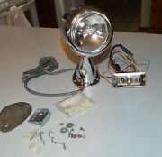 Old Sparcraft 9-360 Boat Electric Remote Control Searchlight 5 And Control Panel