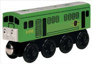 Thomas The Train And Friends -wooden Boco - 2001 W/collector Card Nib/retired