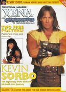 Xena Titan Official Magazine - Collector Cover 13b - Hercules Cover + 2 Posters