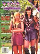 Xena Topps Official Magazine - Gabrielle And Xena Cover 4b + 2 Posters - Rare