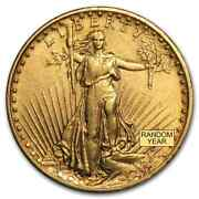 Special Price 20 Saint-gaudens Gold Double Eagle Xf Random Year