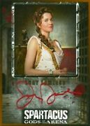 Xena - Lucy Lawless Lucretia - Spartacus Gods Of The Arena Autograph Print Card