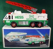 Hess - Collector Emergency Truck With Siren - Backup Alert 1996 - New In Box