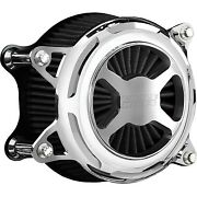 Vance And Hines 72043 Chrome Vo2 X Air Cleaner Filter Harley Fl Fx 08-17
