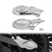 Chrome Rear Swingarm End Axle Nut Scout Covers Fit For Indian Scout 2015 2016