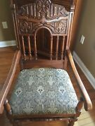 Antique Jacobean Style Dinning Room Set Early 1900s