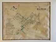 Town Of Red Hook Dutchess County Ny 1867 Lithograph By F.w. Beers