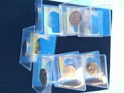 2005-p Lot Of 7 Buffalo Jefferson Nickelwith Protective Case Great Condition