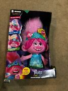 New Trolls Dresmworks World Tour Color Poppin Poppy In Hands, Ready To Ship