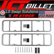 Sbc Valve Cover Adapters - 55-86 Perimeter Bolt Vc To 87-02 Center Bolt Heads