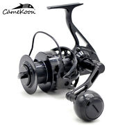 Camekoon Wt6000 Saltwater 66lbs Max Drag Spinning Fishing Reel With All Aluminum