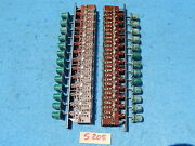 Wurlitzer Wallbox 5205 Selector Switches 58380 And 58381 With Selector Buttons