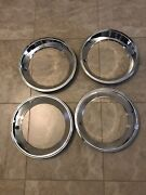 Amc Javelin Amx 15andrdquo Replacement Style Rally Wheel Trim Ring Set