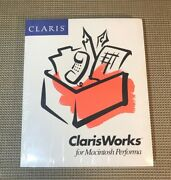 Claris - Clarisworks For Macintosh Performa Guide Book Only - Sealed