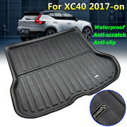 Xukey Tailored Cargo Boot Liner Rear Trunk Floor Mat Carpet Tray For Volvo Xc40
