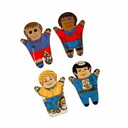 Dexter Educational Toys Dex830m Special Needs Hand Puppets Set Of 4 Grade ...