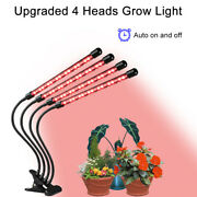 40 Sets Of Led Grow Lights With Four Heads Free Shipment 72w Dimmable