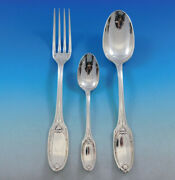Marie Antoinette By Christofle France Silverplate Flatware Service Set 34 Pieces