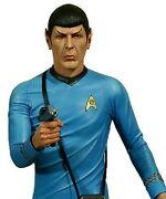 Star Trek Captain 1/4 Scale Statue Hollywood Collectibles Mr. Spock Figure