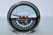 Oliver Tractor Tachometer Super 55, Up To Sn 46000 Gas Diesel White Face