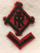 Bf  Boy Scouts - Vintage Camp Irondale, Mo Felt Patch With 1-chevron