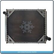 Radiator Fits Freightliner Fld 112 120 132 And Classic Xl 4 Row W/ Fr..